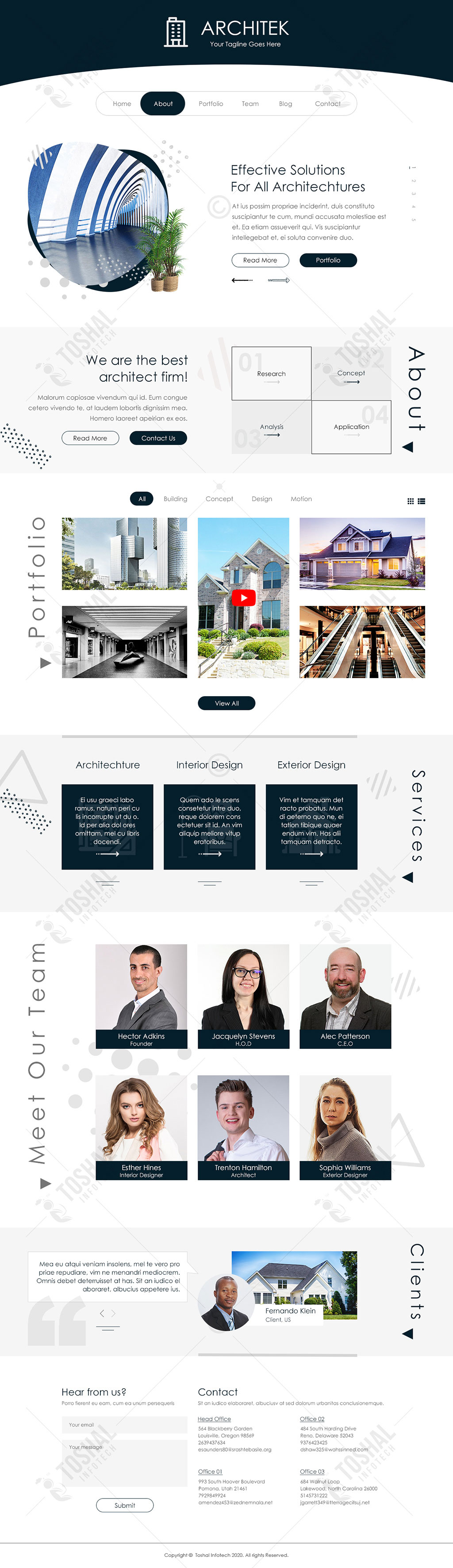 Architect Theme