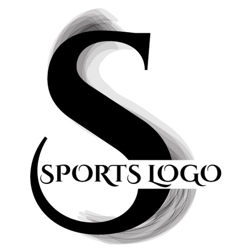 Sports Black Grey Logo